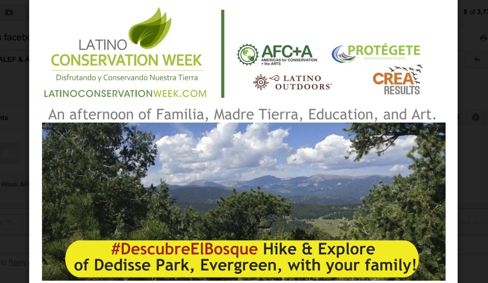 #DescubreElBosque Hike & Explore Dedisse Park with your family - Pasea y Explora Dedisse Park con tu familia