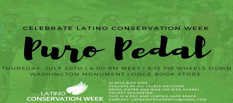 Puro Pedal - DC Bike Ride ** DATE CHANGED** 07/23