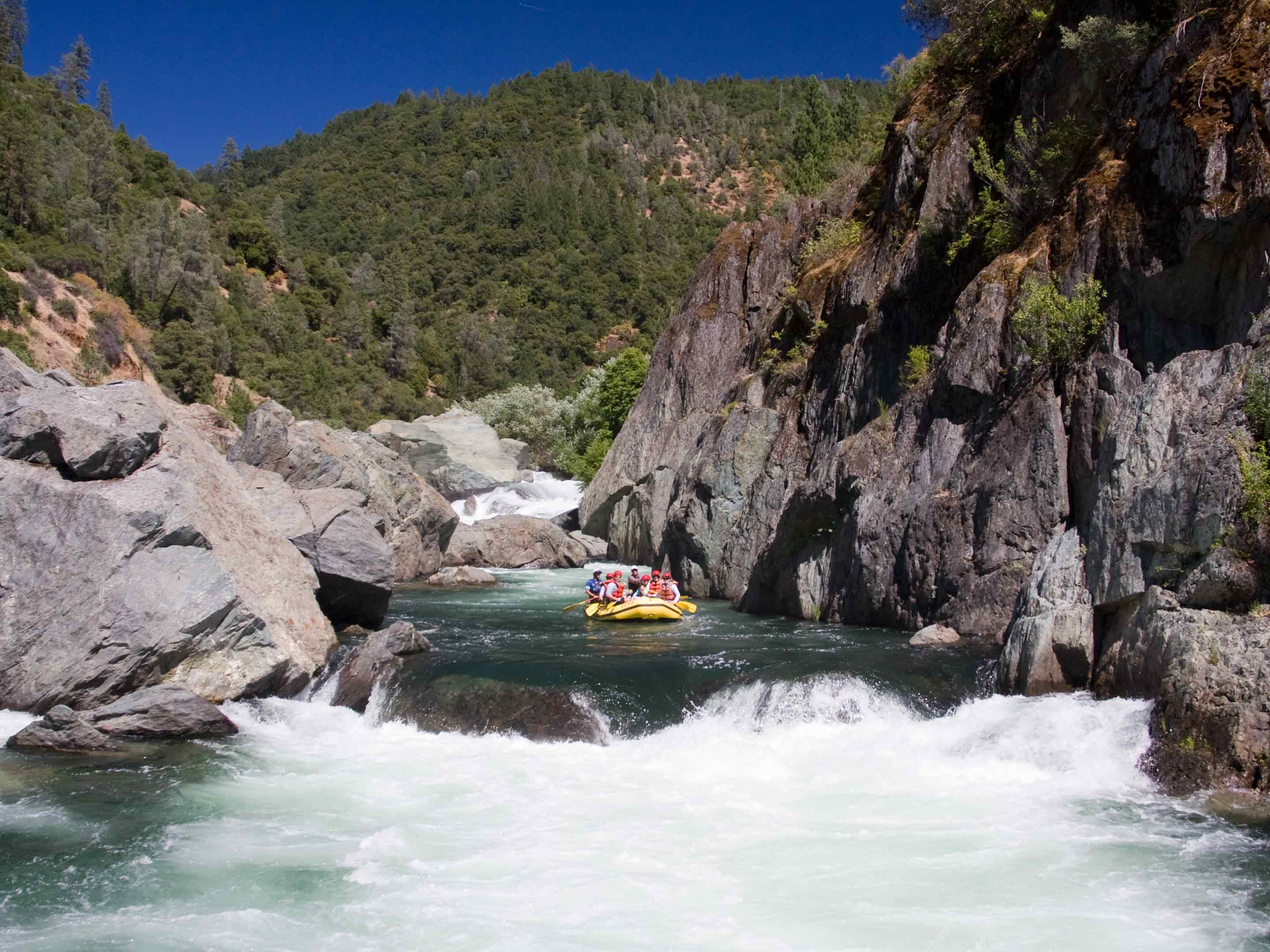 Youth River Rafting on the American River