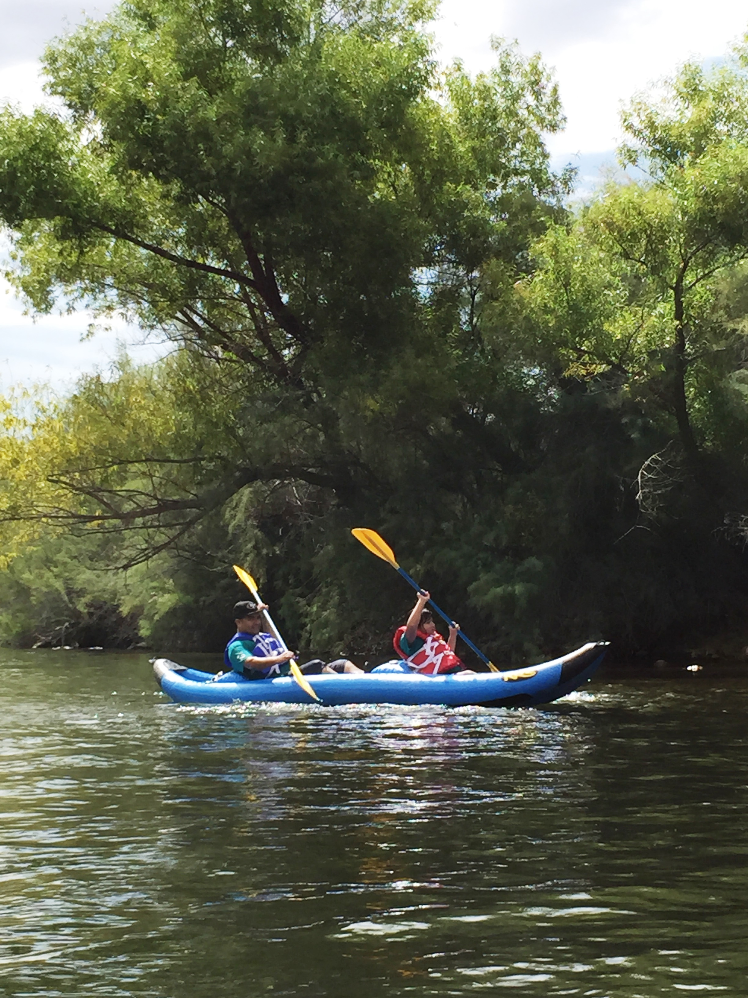 Lower Salt River: Kayak and Clean-up
