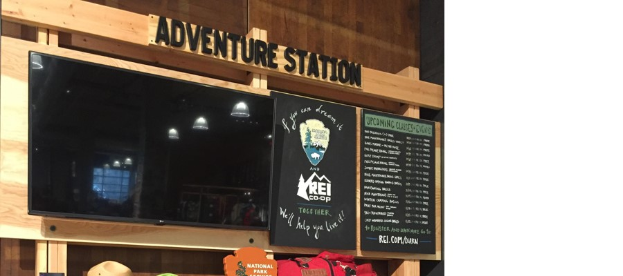 HAF at the Adventure Station at REI
