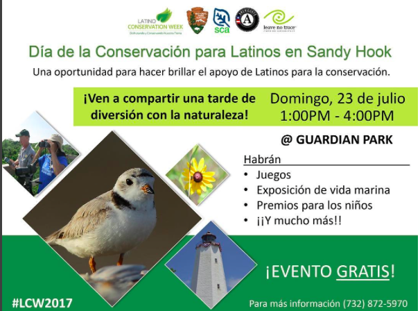 Latino Conservation Week at Sandy Hook