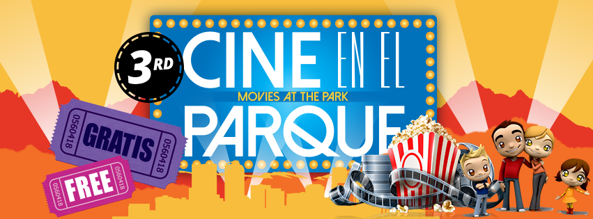 Cine en el Parque/ Movies at the Park