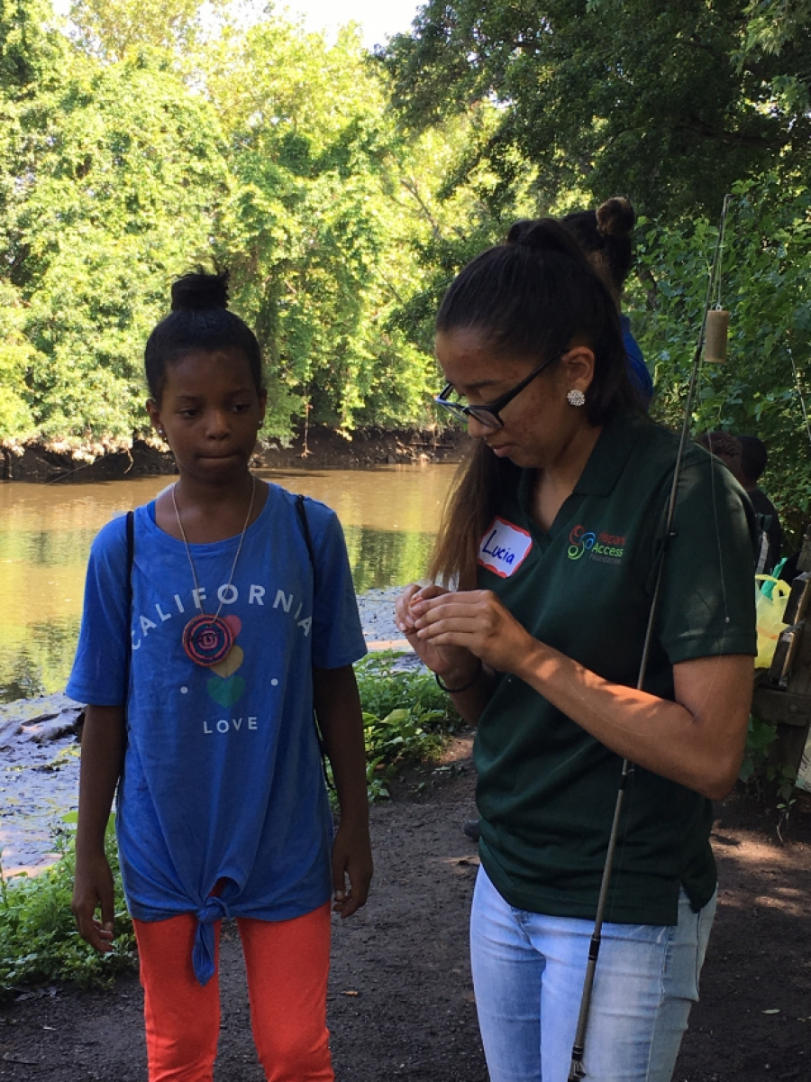 Summer of Community Ourtreach at John Heinz National Wildlife Refuge