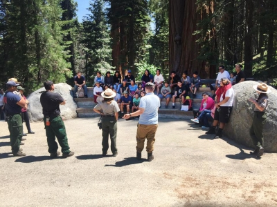 Save the Redwoods League: On the Trails and in the Redwoods, Celebrating Latino Conservation Week