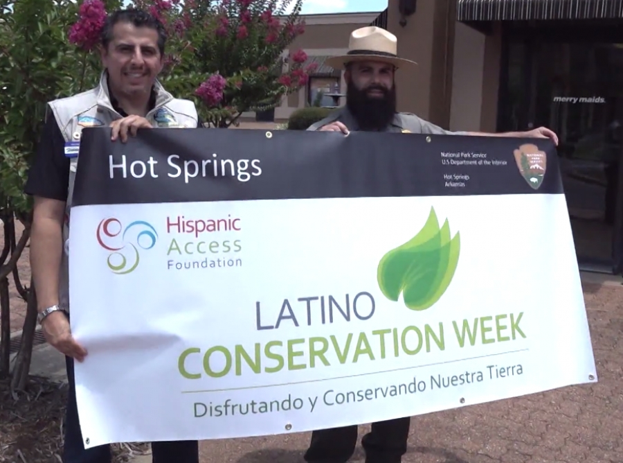 UNIVISON ARKANSAS: Cuidar Areas Verdes La Semana De Conservacion Latino - Hot Springs National Park
